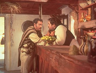 Ricardo Palacios - Eli Wallach and Ricardo Palacios in The Good, the Bad and the Ugly (1966)