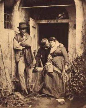 Pietro Boyesen - Image: Elisabeth Jerichau Baumann with her son Harald Jerichau and Pietro Krohn c. 1873 by Pietro Boyesen