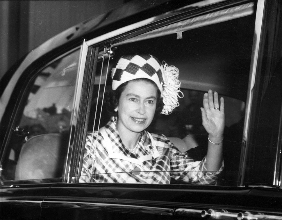 Elizabeth II in Queensland, Australia, 1970