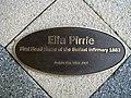Ella Pirrie statue, Belfast City Hospital (detail) - geograph.org.uk - 939606.jpg