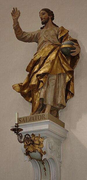Diego Francesco Carlone - Diego Francesco Carlone, Savior of the World, St. Vitus Basilica, Ellwangen