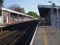 Eltham station look east.JPG