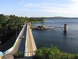 Córdoba Province, Argentina -  Tercero River Reservoir.