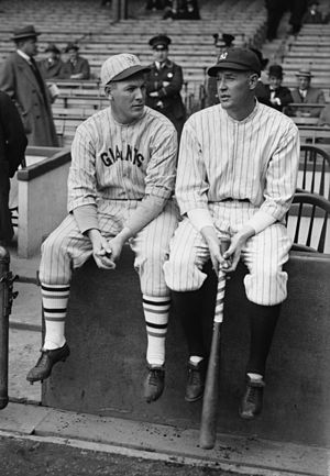 "Bob Meusel - Bob Meusel (right) with his brother, outfielder Emil ""Irish"" Meusel."