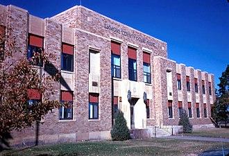 Emmons County, North Dakota - Image: Emmons County Courthouse