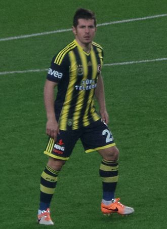 Emre Belözoğlu - Emre returned to Turkey in 2013 where he re-joined former club Fenerbahçe on a two-and-a-half-year deal.