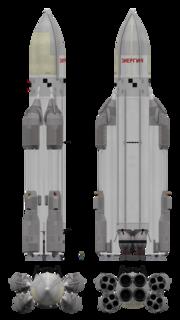 Energia Soviet launch vehicle