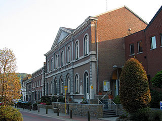 Engis Municipality in French Community, Belgium