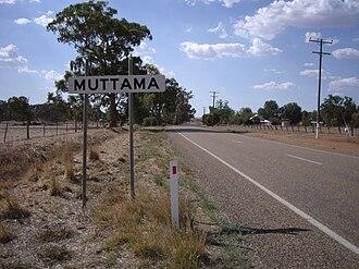 Muttama, New South Wales - Entering Muttama