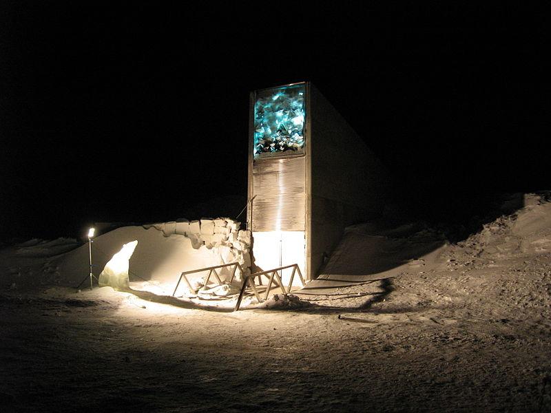 File:Entrance to Svalbard Global Seed Vault in 2008.jpg