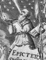 Epicteto, y Phocilides en español con consonantes, 1635, frontispiece - detail.png