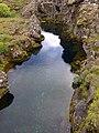 Erdspalte bei Þingvellir - panoramio.jpg