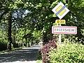 Ergersheim (Bas-Rhin) city limit sign.jpg