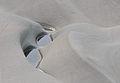 Erodierter Sandstein, Bregenzerache 27.JPG