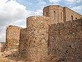 Església i muralla oest del castell d'Onda.JPG