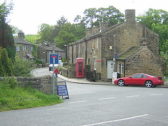 Emmerdale - Esholt, West Yorkshire, used for exterior scenes from 1976 to 1997