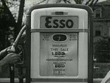פרסומת משנת 1938 לחברת הדלק Esso