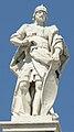 Estatua de Alarico II, rey visigodo, Palacio Real de Madrid - 20101226.jpg
