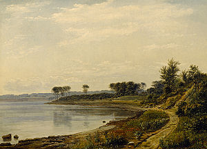 Dankvart Dreyer - The coast near Aarhus, c. 1839.
