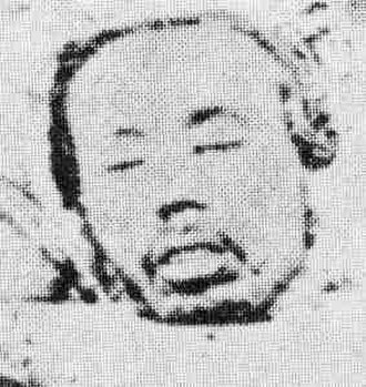 Saga Rebellion - Head of Eto Shimpei after his execution.