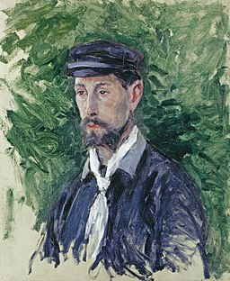 Eugène Lamy, by Gustave Caillebotte