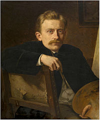 Eugene Siberdt - Portrait of the painter Hippolyte Van Soom.jpg