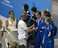 European champ Berlin Relay medal presentation (6023126438).jpg
