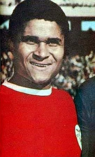 S.L. Benfica - Eusébio, winner of 1965 Ballon d'Or