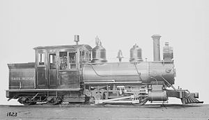Phillips and Rangeley Railroad - The three 'Eustis engines' Nos. 7, 8 and 9 were built by Baldwin in 1903 and 1904