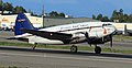 Everts Air Cargo C-46 taxiing at ANC (6624454307).jpg