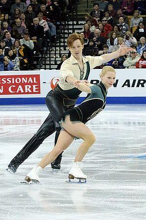 Evgenia Tarasova - Tarasova and Morozov at the 2016 World Championships.