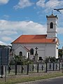 Exaltation of the Cross cemetery chapel in Vonyarcvashegy, 2016 Hungary.jpg
