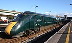 Exeter St Davids - GWR 802006+802012 down service.JPG