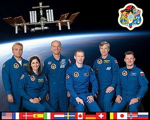 Expedition 21 - Image: Expedition 21 crew portrait