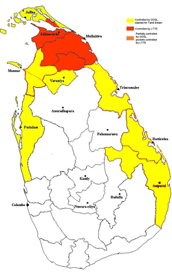 Extent of territorial control in sri lanka-08-2008.png