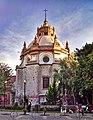 Exterior del Camarin de la Virgen del Templo de San Diego Aguascalientes Mexico (cropped).jpg
