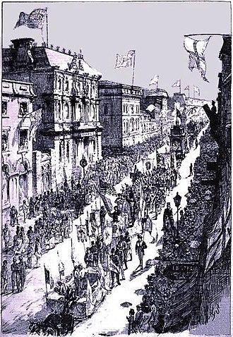 Henry Sandham - Image: Fête Nationale 24 juin 1874 Montreal