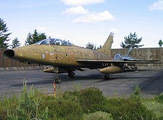 Royal Danish Air Force - RDAF TF-100F Super Sabre survivor, 2006