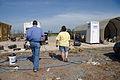 FEMA - 44483 - Oklahoma resident inspecting tornado damage with FEMA inspector.jpg
