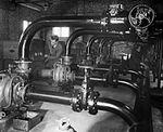 FIDO pumps at RAF Graveley May 1945 IWM CH 15275.jpg