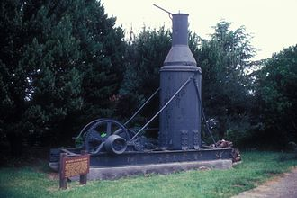 Fort Humboldt State Historic Park - The steam donkey in the park