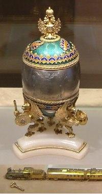 Faberge Train Egg Kremlin April 2003-2.jpg