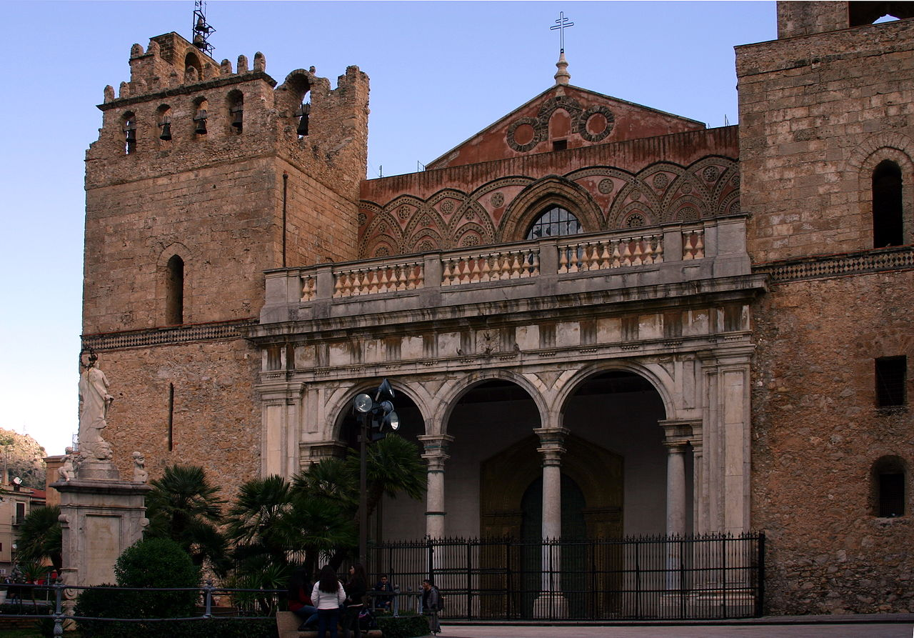 Monreale Italy  city images : Facade Cathedral of Monreale Italy 2015 3 Wikimedia ...
