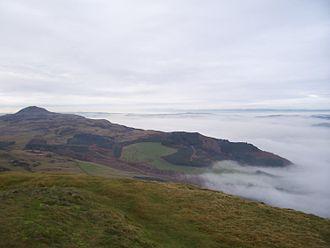Lomond Hills - Image: Falkland Hill Mist 029