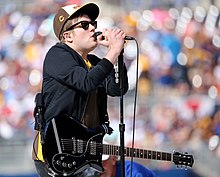 Fall Out Boy's Patrick Stump performs to open the 2016 T-Mobile -HRDerby. (28336717050).jpg