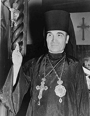 Fan S. Noli - Bishop Fan Noli, founder of the Orthodox Autocephalous Church of Albania (1939).