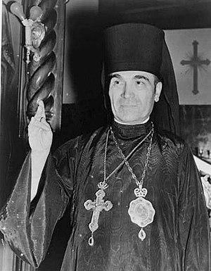 Albanian Orthodox Church - Bishop Fan Noli, founder of the Orthodox Autocephalous Church of Albania.