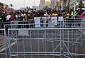 Fans outside Moses Mabhida Stadium for Brazil & Portugal match at World Cup 2010-06-25 1.jpg