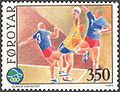 Faroe stamp 181 team handball.jpg