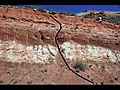 Fault in redbeds (Chugwater Formation, Upper Triassic; Red Hill, Seminoe Mountains, Wyoming, USA) 5.jpg